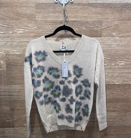 LABEL+thread Fuzzy Puma Vee Sweater