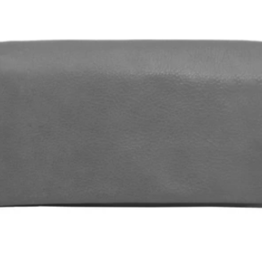 Latico Leathers Charcoal Eloise Wallet