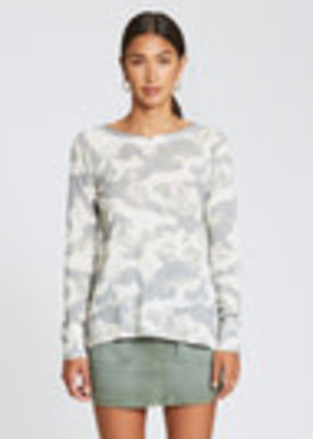 Roxy Camo Knit Top