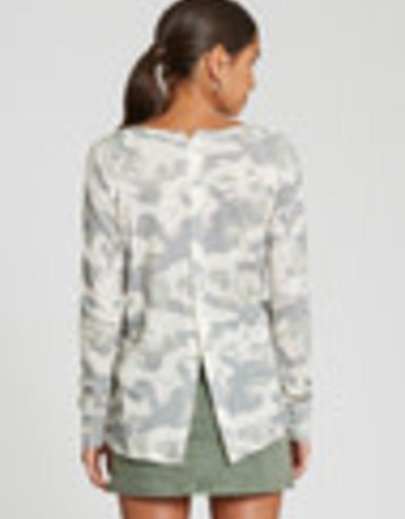 Roxy Camo Knit Top