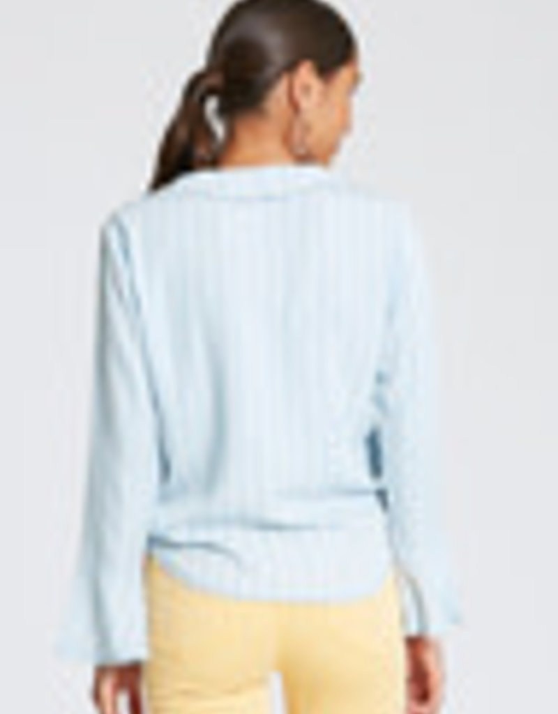 Desiree Ruffled Neckline Shirt