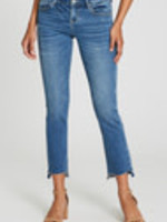 Liam Straight, Mid-rise, Ankle, Step Hem Jeans (Core)