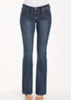 Sloane Mid-Rise, Boot-cut Jeans; Core Style