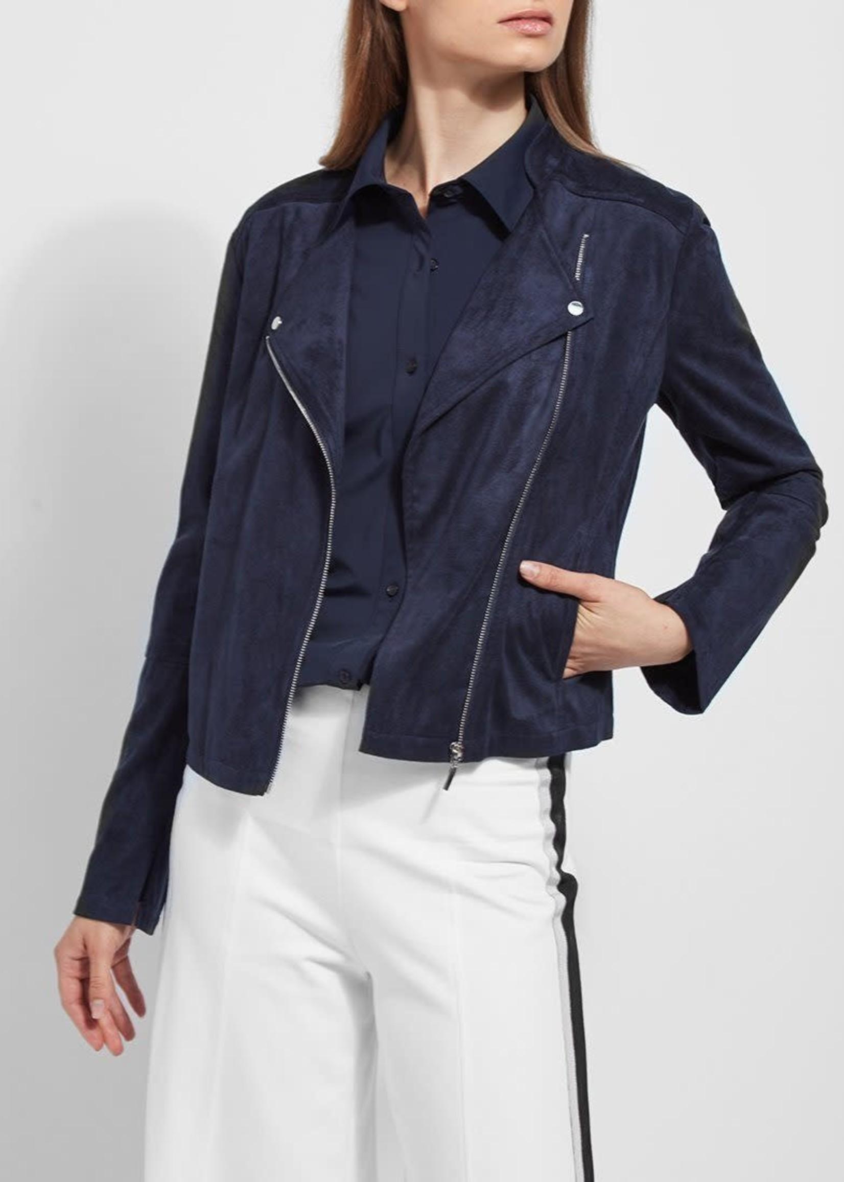 Essential Suede Jacket