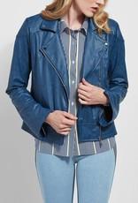 Sienna Lt Wt Vegan Leather Jacket