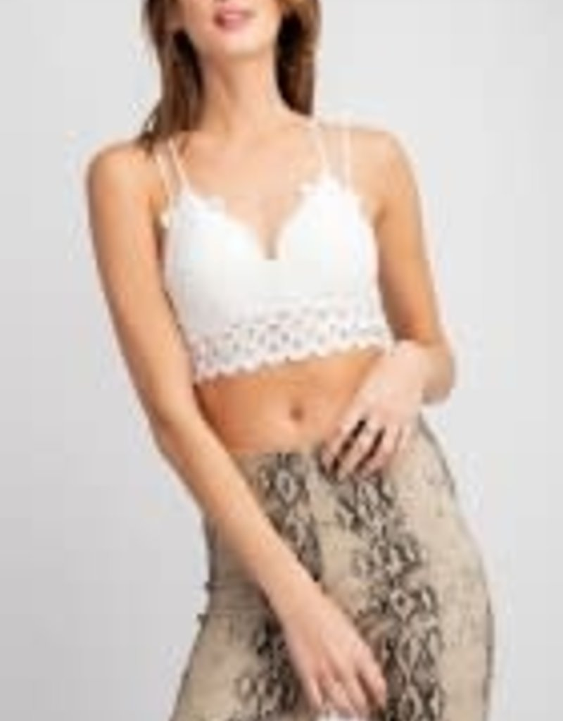 Novelty Lace Bralette