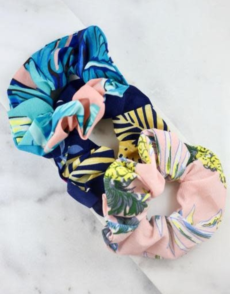 Northam Tropical Hair Scrunchies