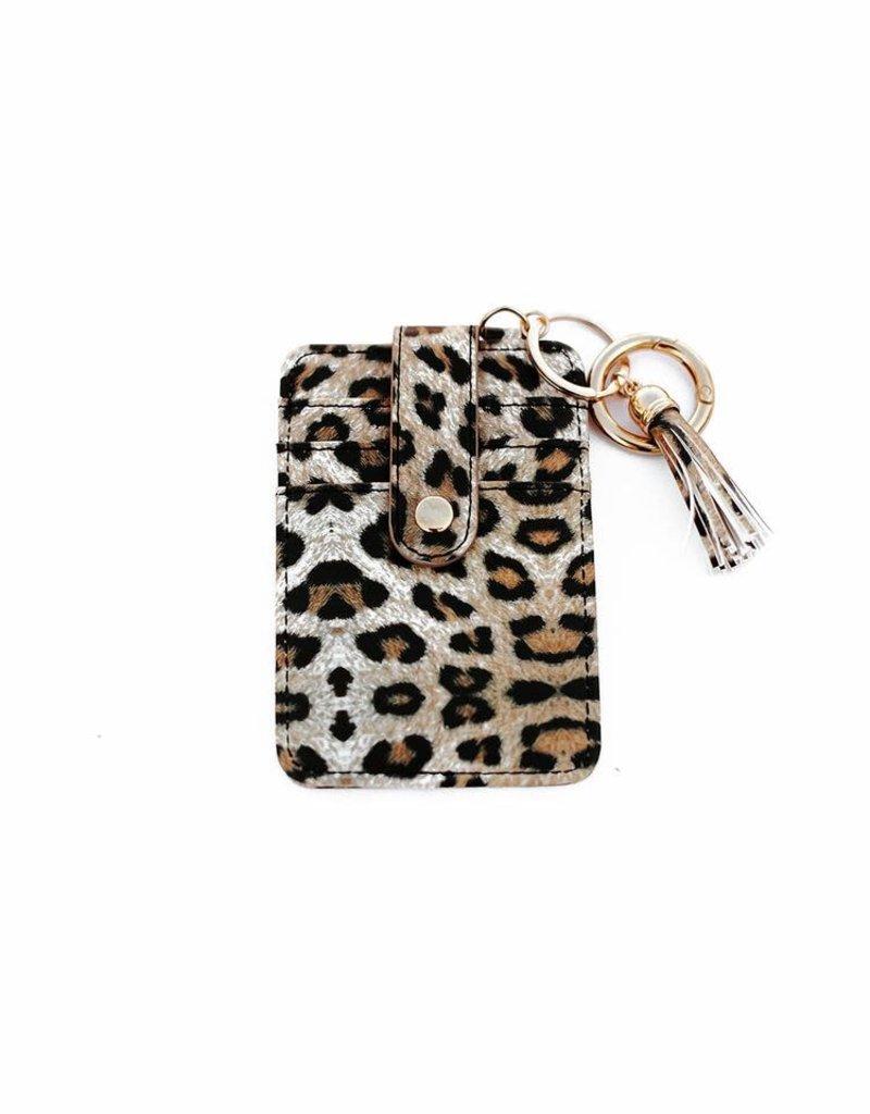 Credit Card Wallet Keychain
