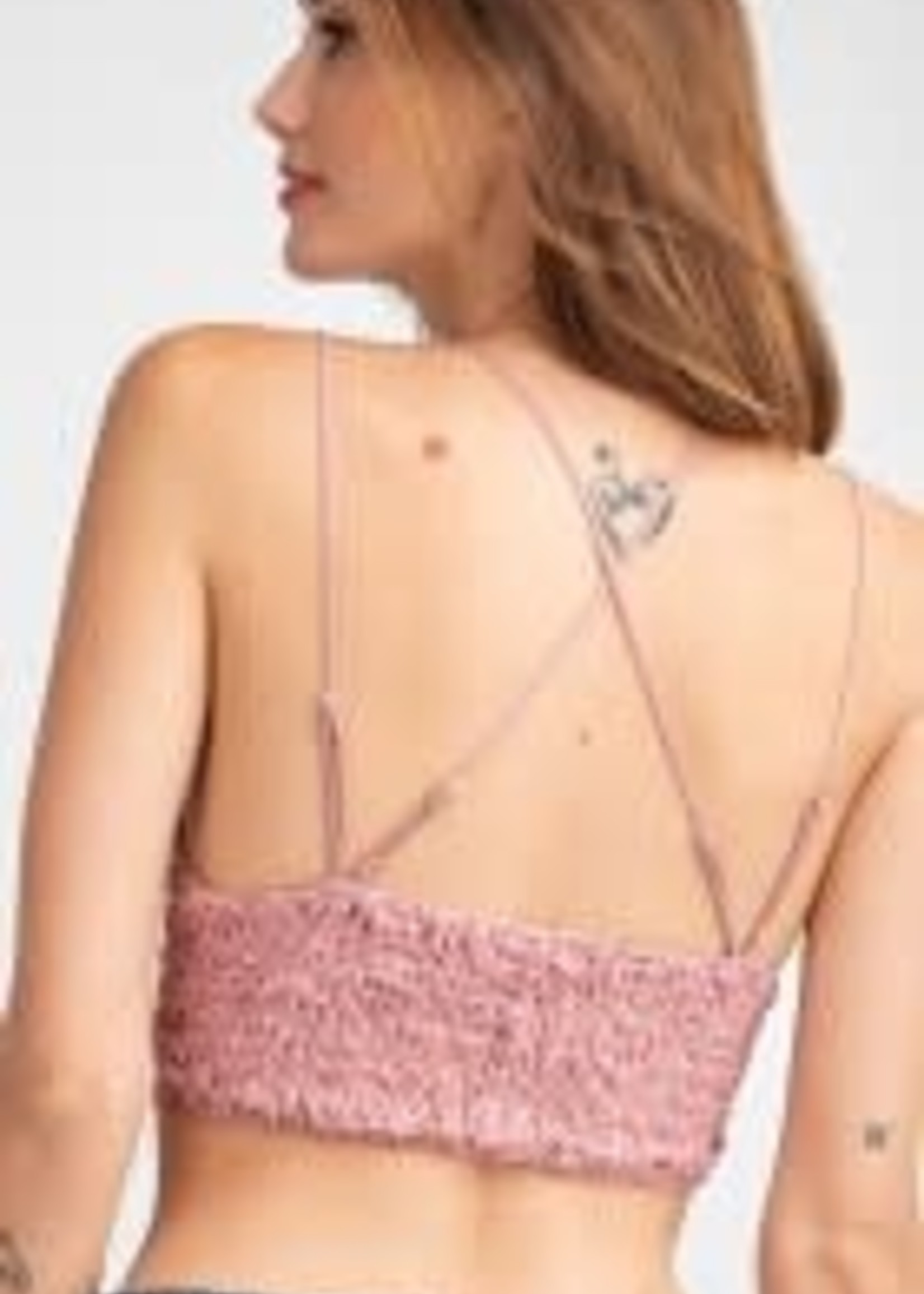 Novelty Lace Bralette