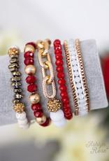 Anchor Bracelet Set- 5 piece