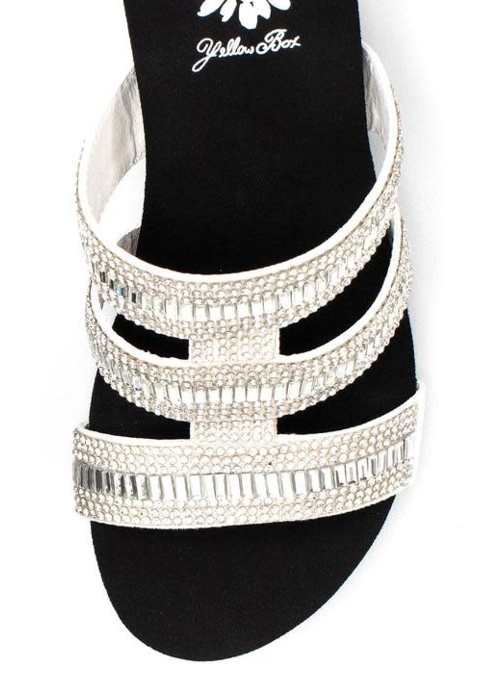 Segrid Bling Wedge Sandals