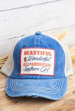 Beautiful, Wonderful, Southern Girl Hat- Girls