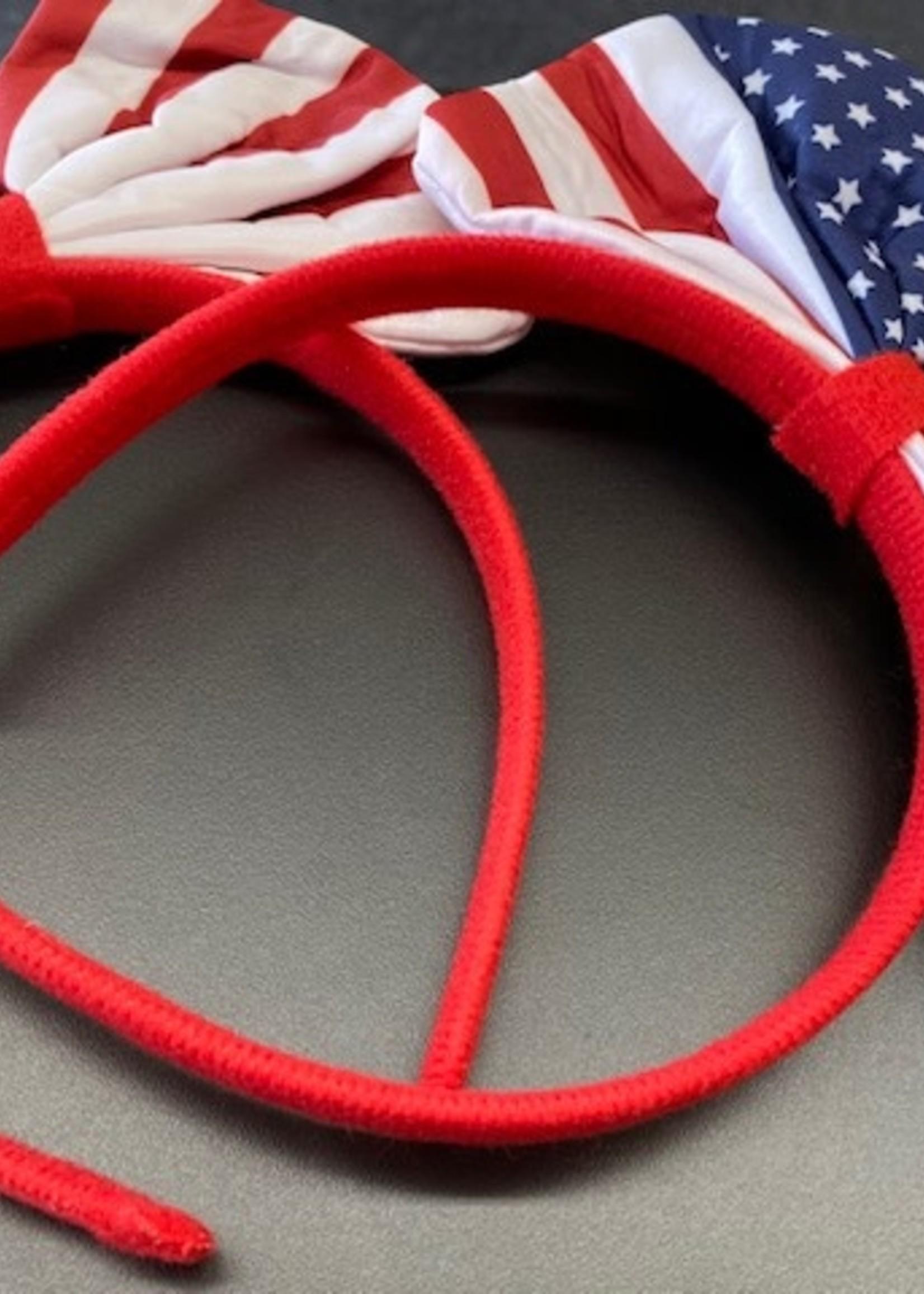 Star Spangle Headband w/ Bow