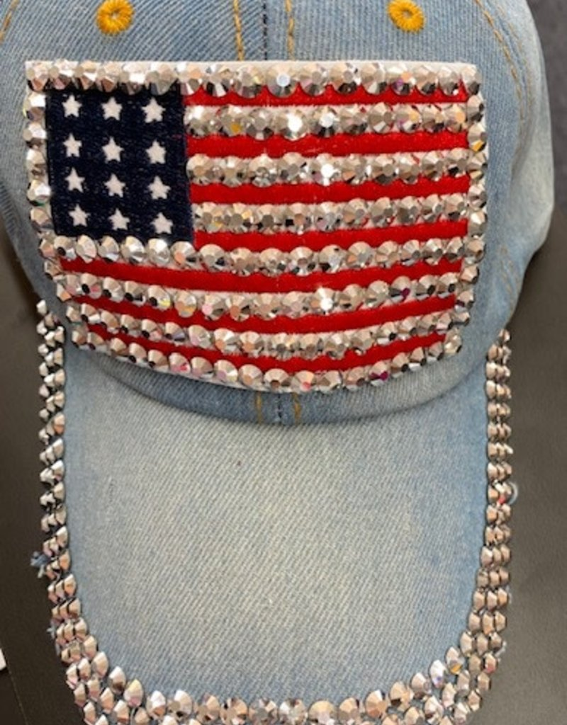Star Spangle Hat w/ Bling