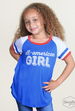 All American Girl Tee; Girls