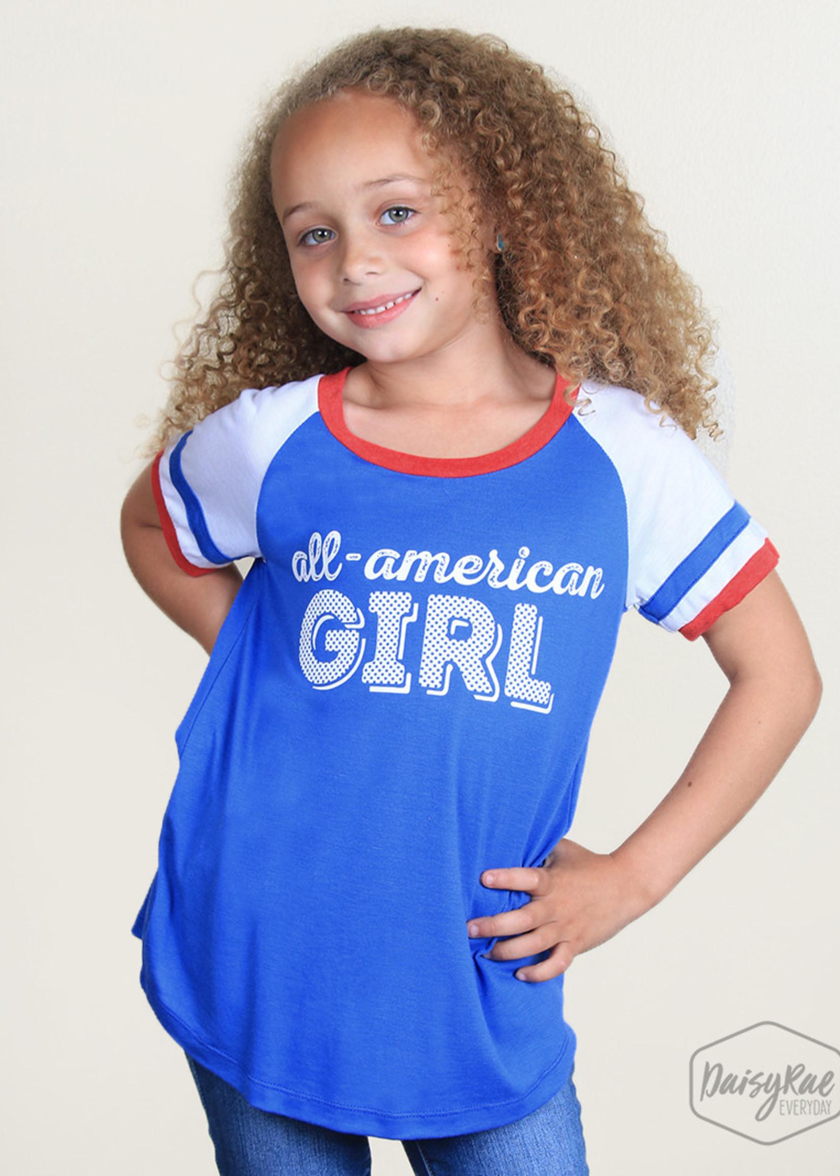 All American Girl Tee; Girls