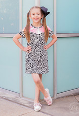 Dalmatian Tee Dress w/ Pockets & Tie Dye; Girls