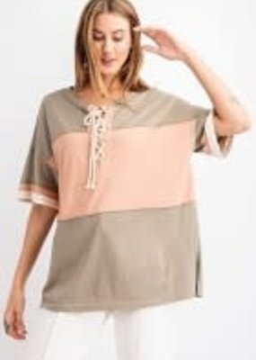 Short Sleeve Poly Cotton Pull-Over Shirt
