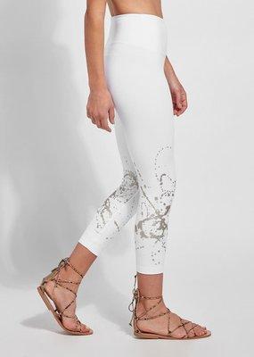 Juno Crop Foil Leggings