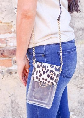 Clear Cell Phone Holder Purse