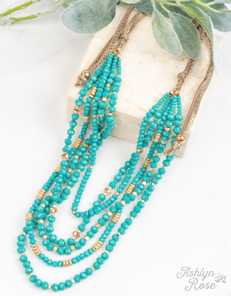Dressed to Impress Draped Necklace