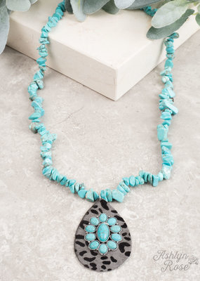 Country Chunky Stone Necklace