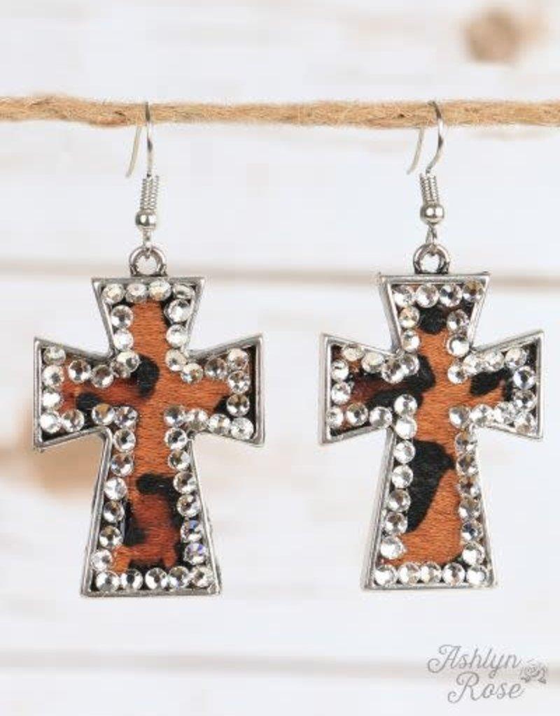 Faithful Cross Earrings