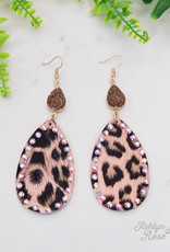 Going Wild Pendant and Druzy Earrings
