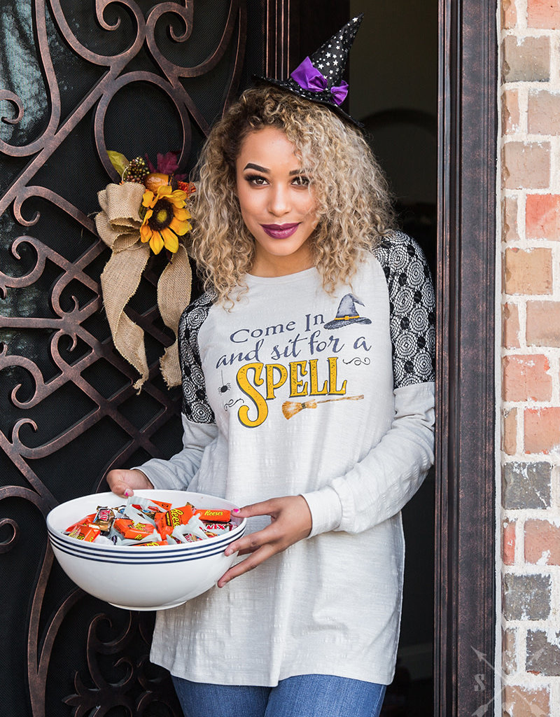 Come In and Sit for a Spell Long-Sleeve Tee