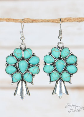 Fancy Squash Blossom  Earrings