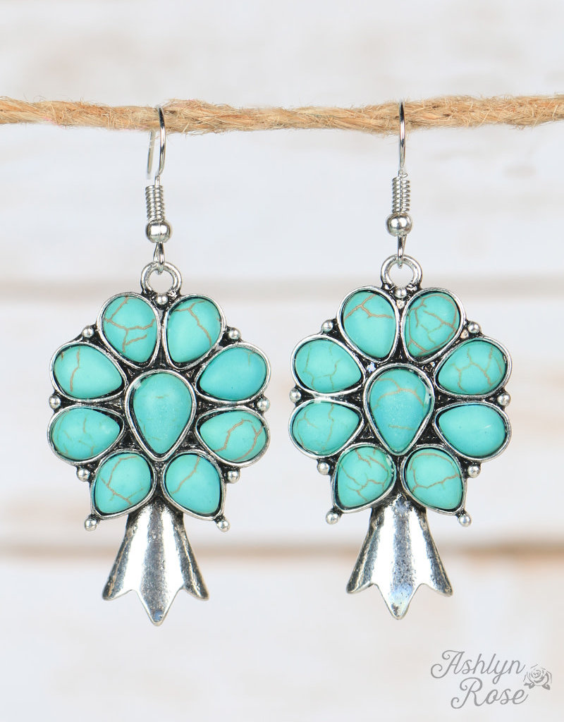 Fancy Squash Blossom  Earrings