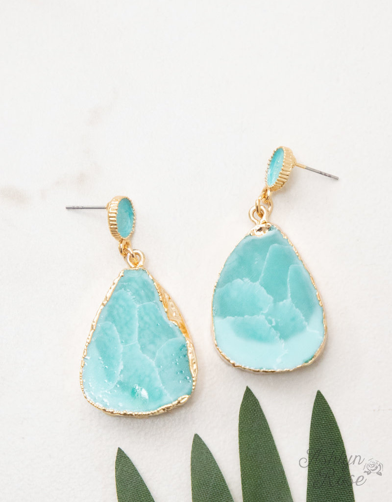 Makes you Stand out Stone Earrings