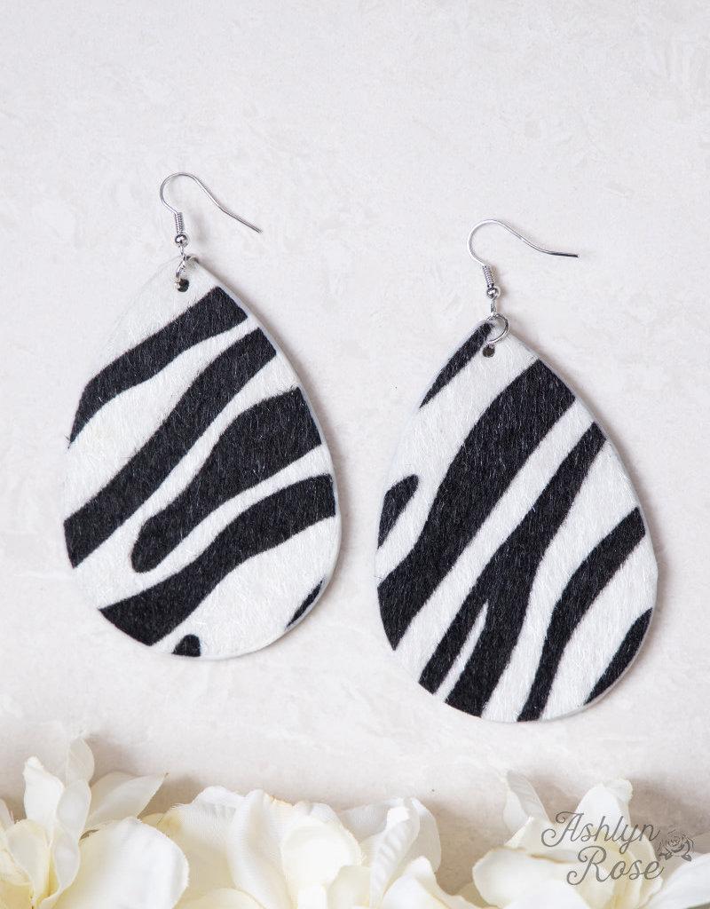 Simply Shimmering Zebra Print Fur