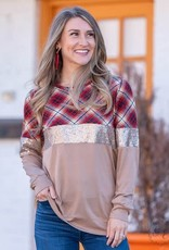 Stacked in Style Longsleeve Top