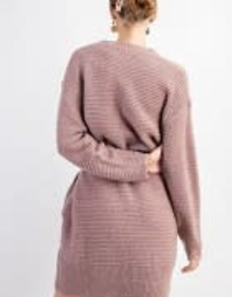 Loose Knitted Sweater Dress