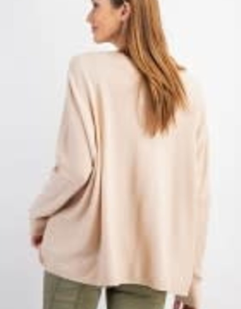 Light Weight V-Neck Knitted Sweater