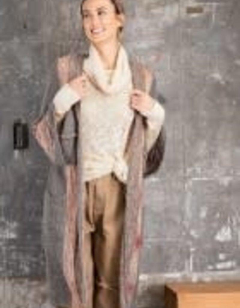 Wide Sleeve Boho Sweater
