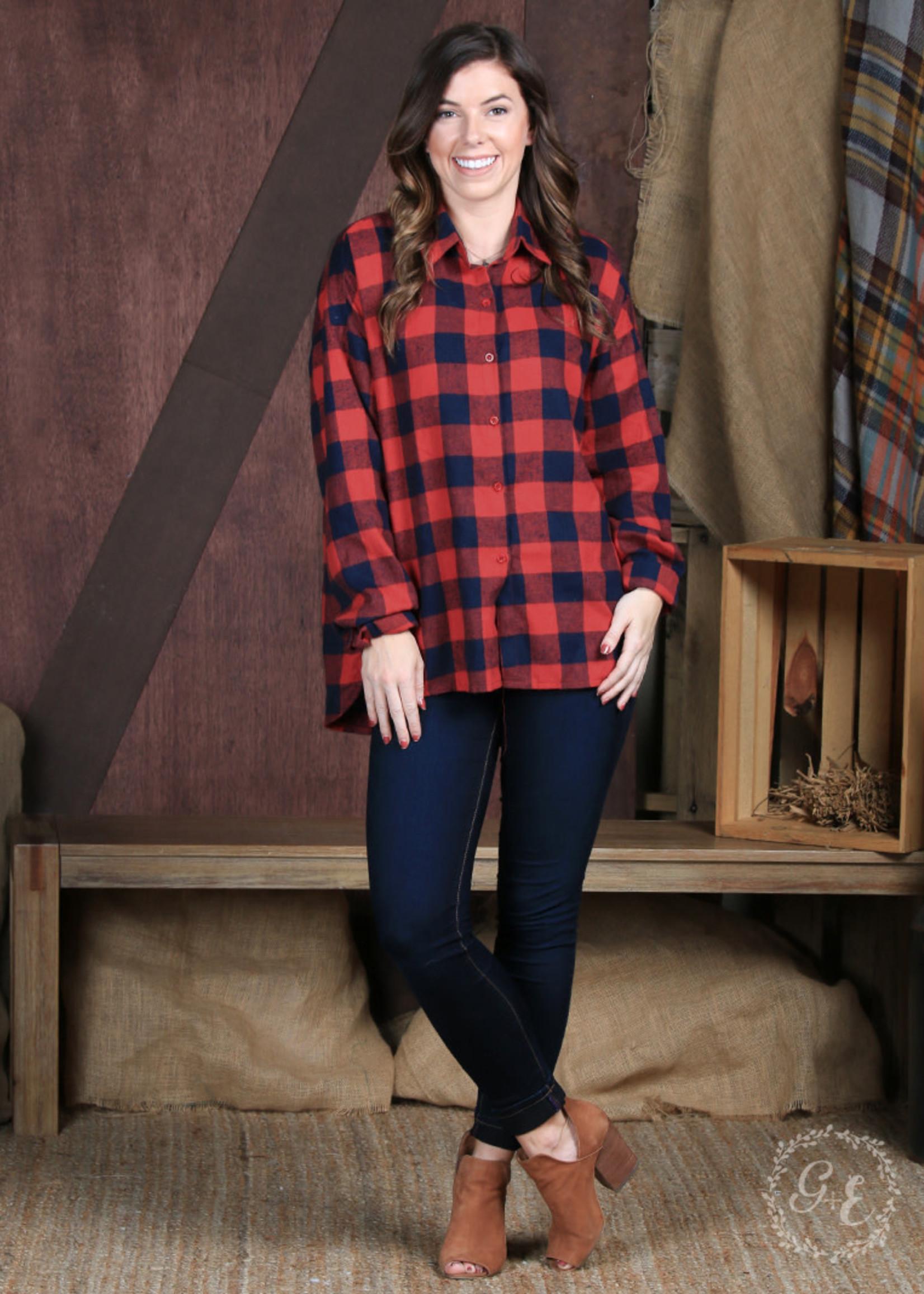 The Ultimate Checker Flannel Button-Down