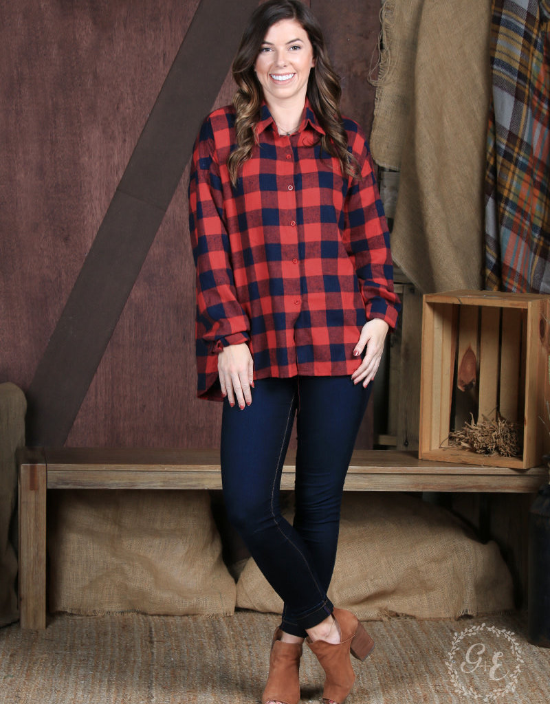 The Ultimate Checker Flannel Button-Down