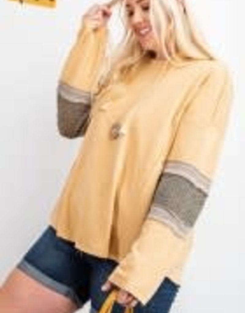 Oh So Soft Terry Knit Mix N Match Hoodie Pullover