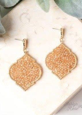 Going Baroque Drop Earrings
