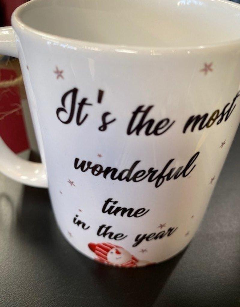 Christmas Coffee Mugs--Gift Set