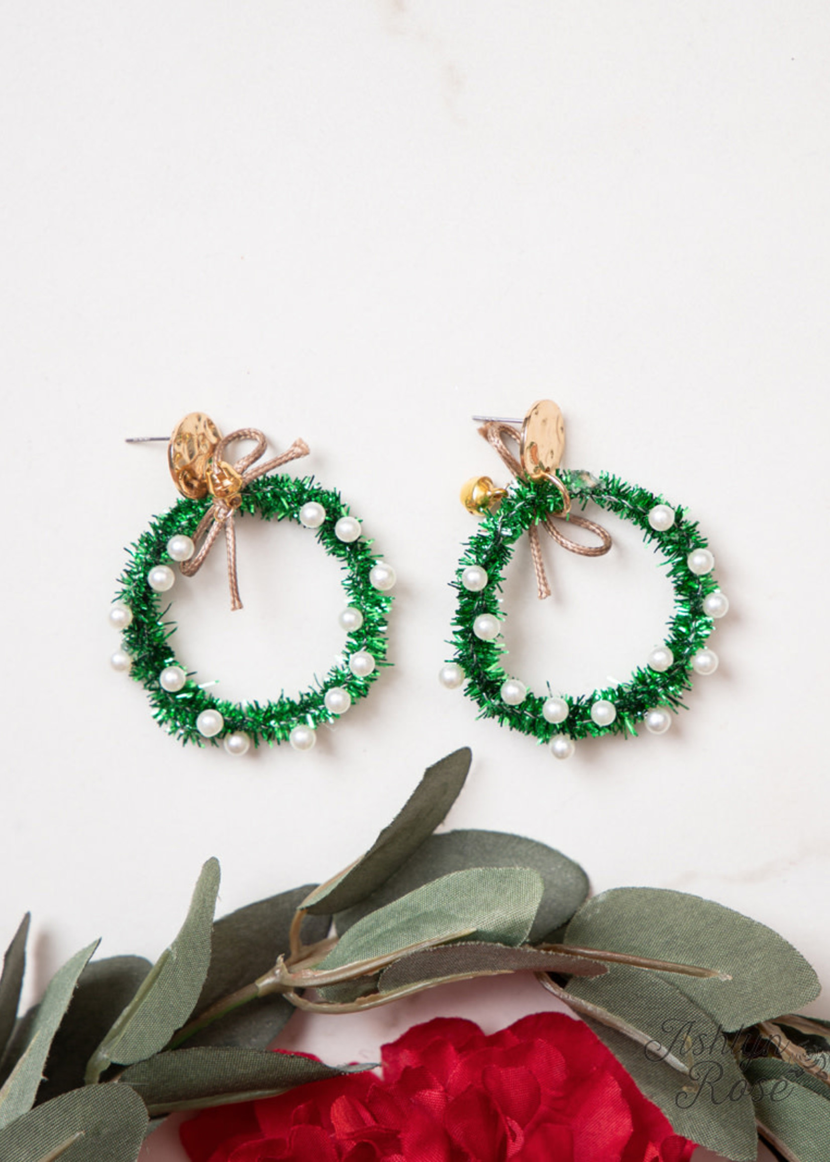 Add Some Sparkle to Christmas Earrings