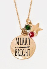 Christmas Necklace and Earring Gift Set