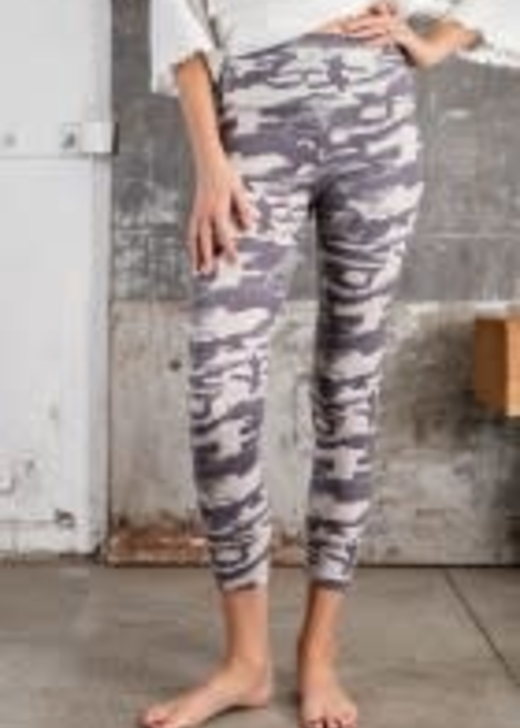 Camouflage Printed Soft Leggings
