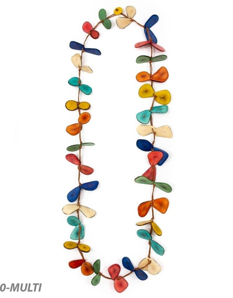 Tagua Slice Necklace