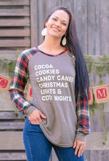 Cozy Nights at Christmas Long-Sleeve Tee