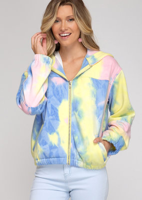 Tie Dye Soft Sweatshirt Top