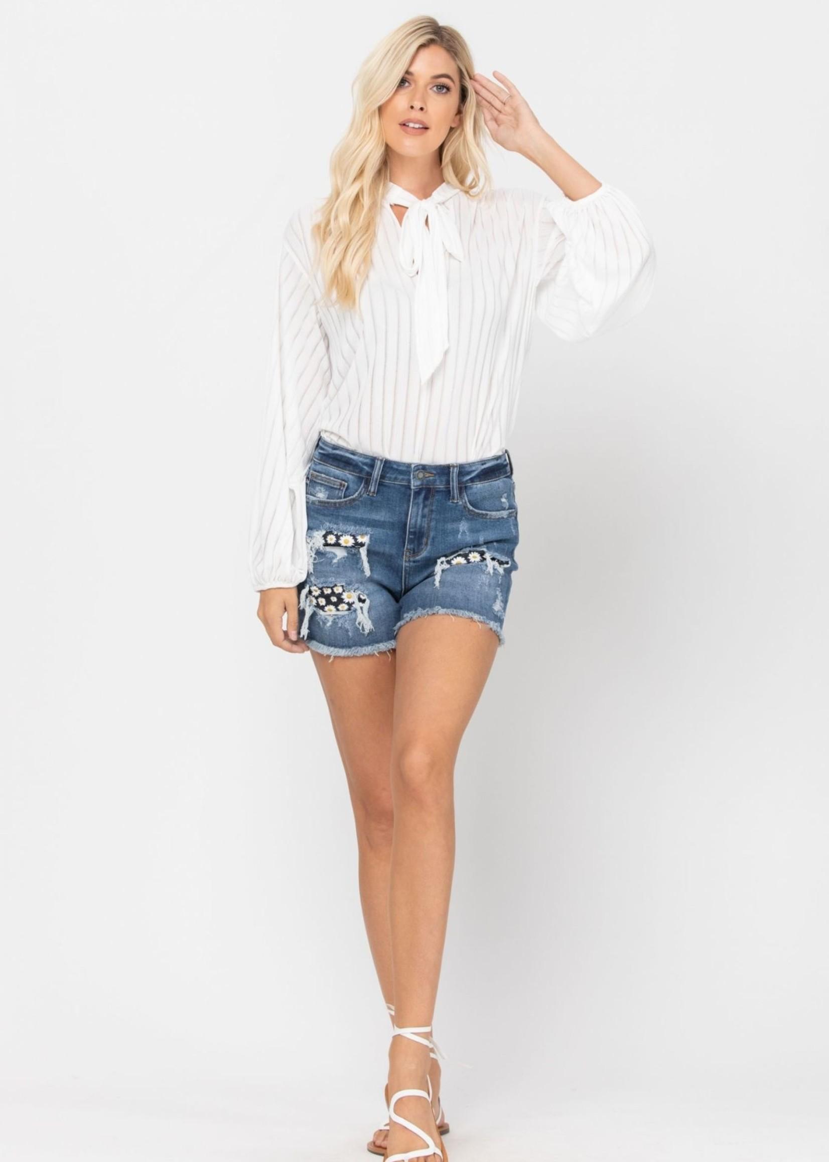 Sunflower Distressed Jean Shorts