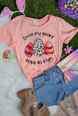 Cross My Heart Hope to Dye Tee